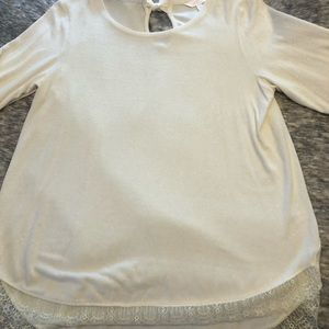 Sweater cream Lauren Conrad XL